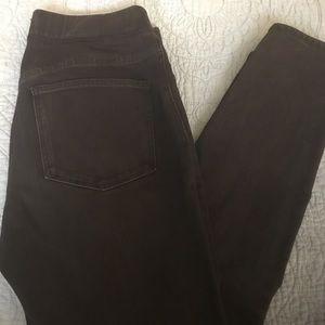 Women's Madewell skinnies in black